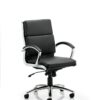 ECOS CLASSIC HIGH BACK SWIVEL LEATHER CHAIR