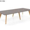ECOS Solid Oak Informal Tables – Rectangular Edge