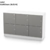ECOS Pedestal Group Lockers – 1